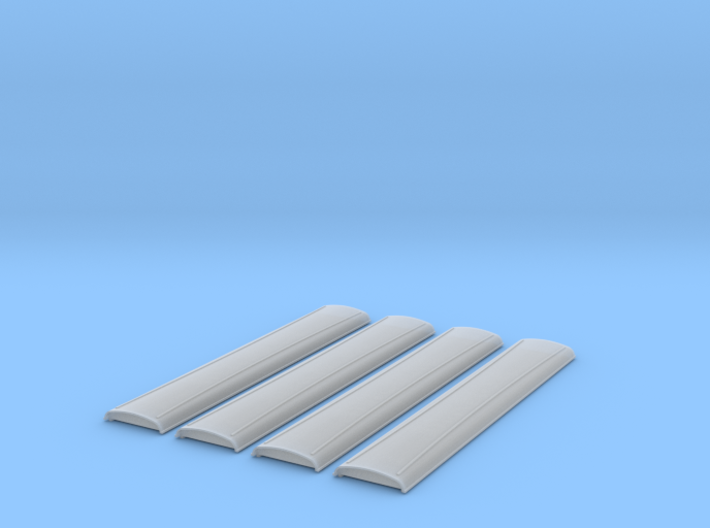 SDJR 46ft roofs 3d printed