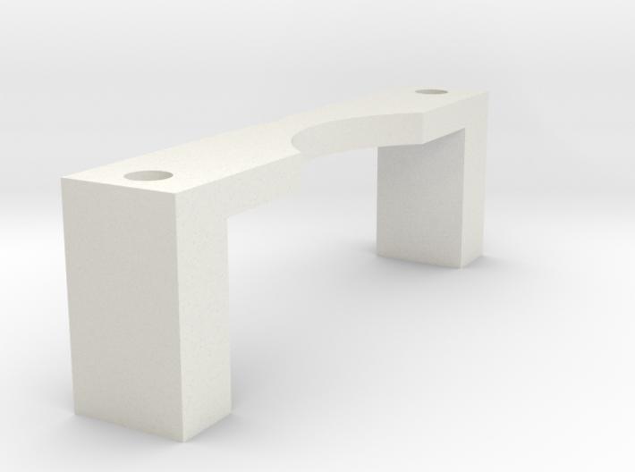 DJI Zenmuse H3-3D - Xiaomi Yi adapter (clamp) 3d printed