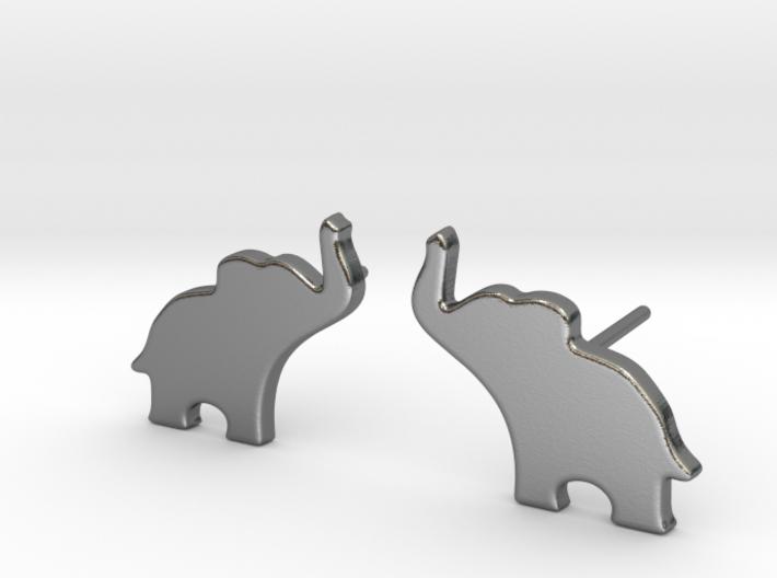 Elephant Earring 3d printed
