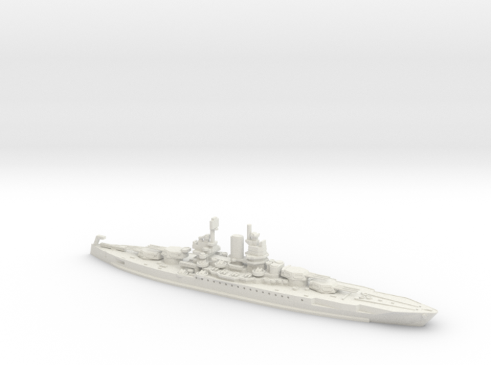 USS New Mexico 1/600 3d printed
