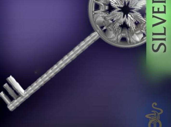 Magic key pendant 5.5cm 3d printed 5