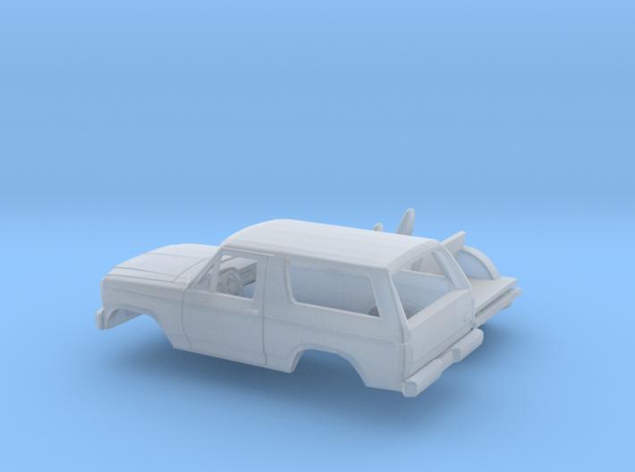 1/87 1979-86 Ford Bronco Kit 3d printed