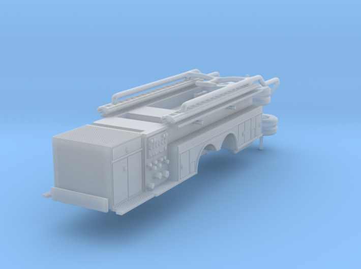 1/160 Crown Snorkel body w/ pumps and cabinet 3d printed