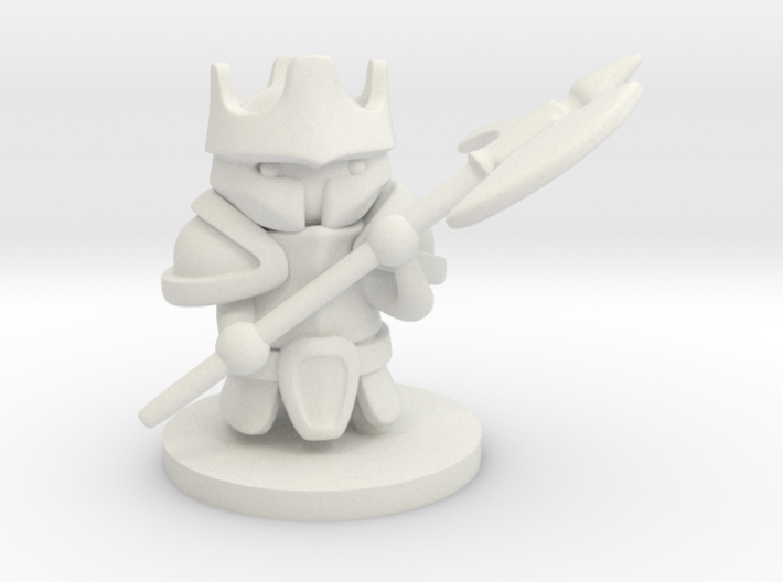 Heavy Knight 3d printed
