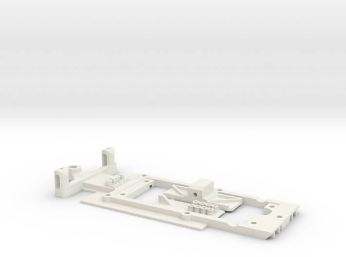 Chassis for Scalextric Brabham BT49 (F1) 3d printed