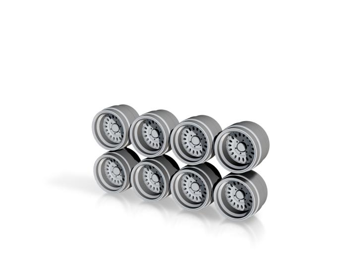 Rays Volk Power Hot Wheels Truck Rims 3d printed