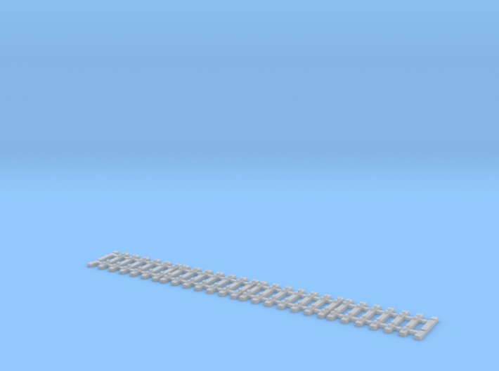 Nm flexible track for code 55 profiles 3d printed