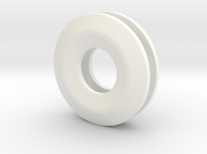 Unite ::: Circle Pendant ::: v.01 3d printed