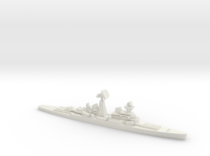 Missile Cruiser Dzerzhinsky (Never Were), 1/2400 3d printed