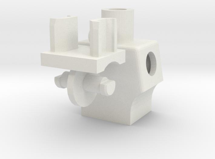 Slim Torso & Waist Lego 3d printed