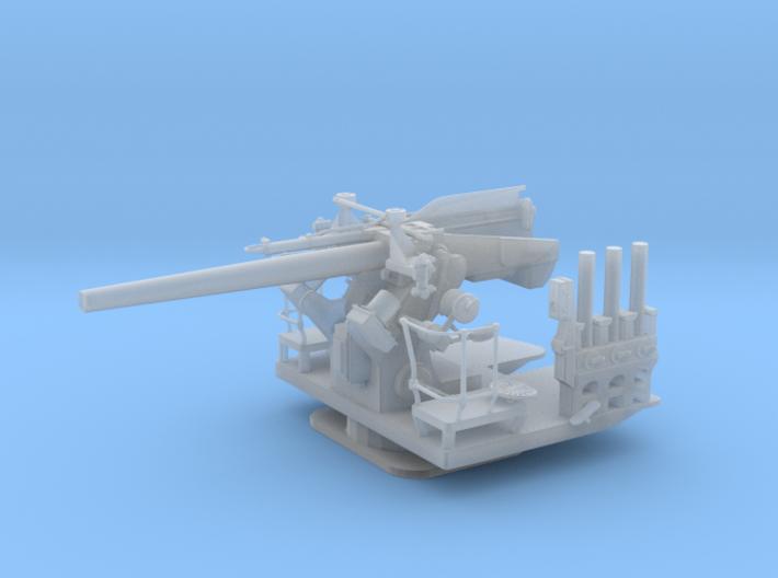 1/48 5 inch 25 (12.7 cm) Deck AA Gun 3d printed