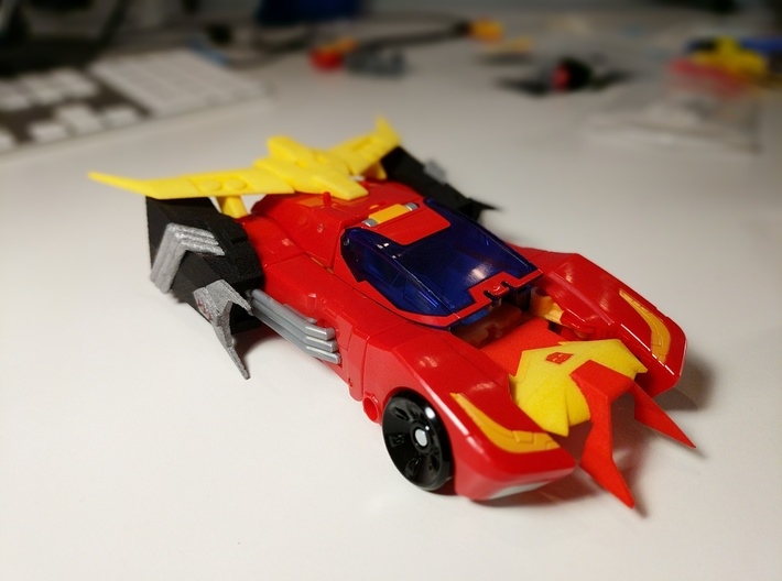 MTMTE Rodimus chest (Part 2 of 2) 3d printed