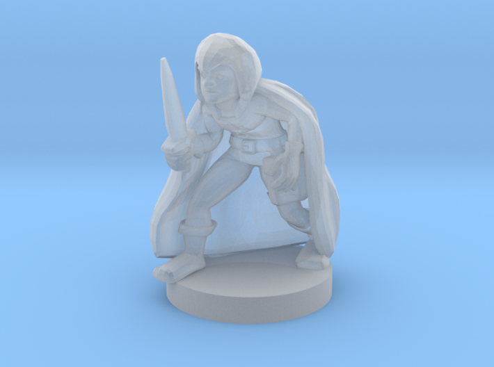 Gnome Male Rogue 3d printed