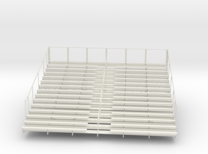 Printle Bleachers - 1/12 3d printed
