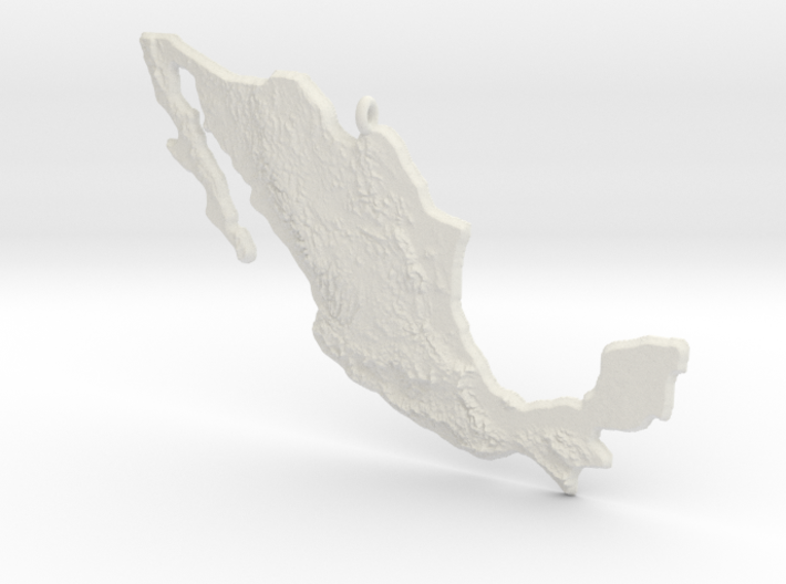 Mexico Christmas Ornament 3d printed