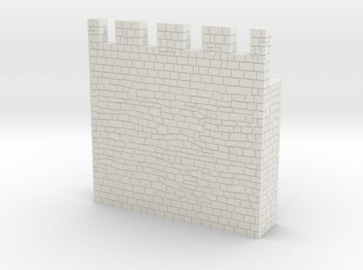 HOF031 - Castle wall 1 3d printed