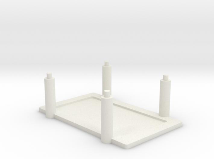 Arduino Mega Rack 3d printed
