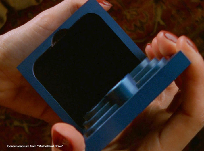 """Mulholland Drive """"Blue Box"""" - 4 of 4 - Lock Parts 3d printed Screen Shot from """"Mulholland Drive"""""""