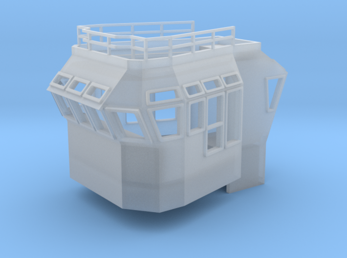 Bridge Superstructure 1/200 fits Harbor Tug 3d printed