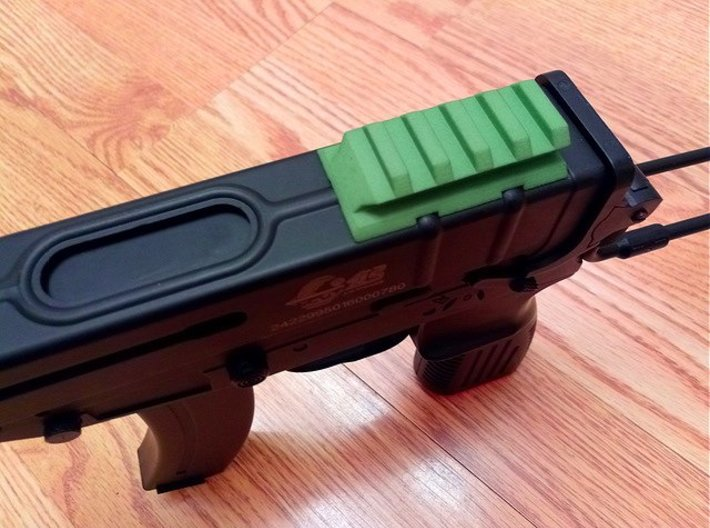 VZ61 Upper Picatinny Rail 3d printed