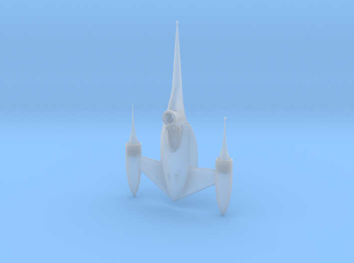 1/144 Naboo Star Fighter for Diorama 3d printed