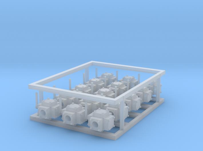 hydraulic valves 15pc 3d printed