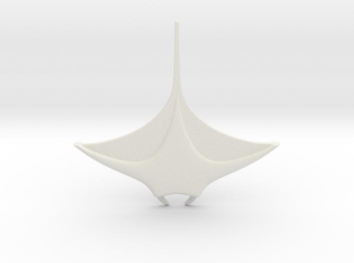 manta ray 3d printed