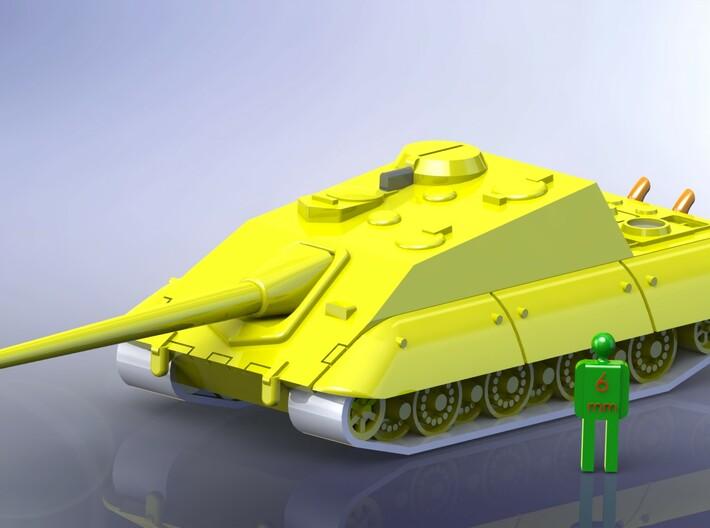 German E-100 Series Tanks 1/285 / 6mm 3d printed Jagdpanzer
