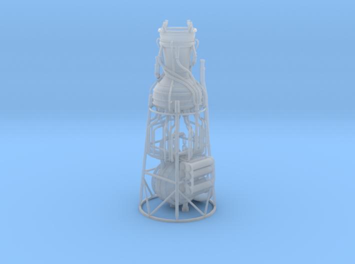 V-2 aka A-4 Engine scale model 3d printed