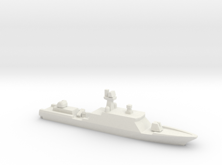 Gumdoksuri-class patrol vessel (late ver.), 1/1800 3d printed