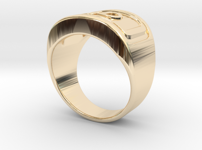Gold Ring 3D  3d printed