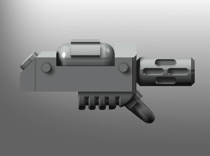 Human-sized Thermal Injector Pistols x5 3d printed