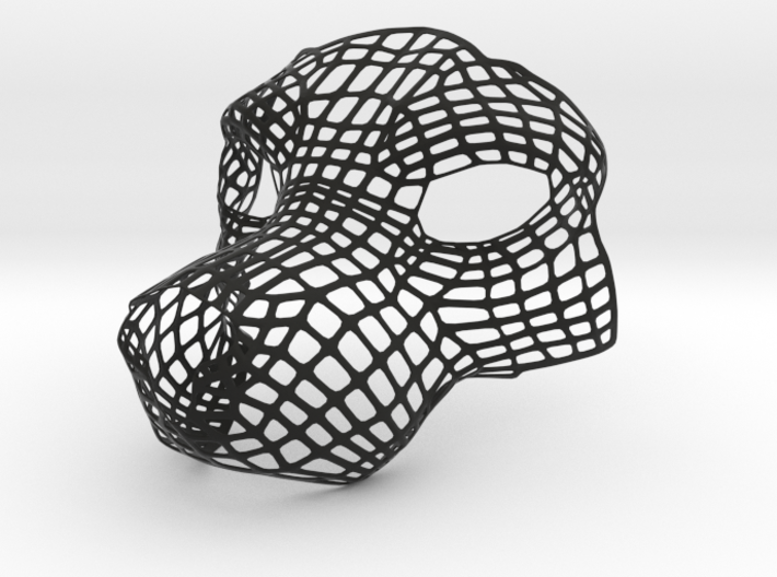 Dog Mask Base - Version 3 3d printed