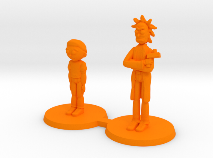 Mick and Rory Free Download 3d printed