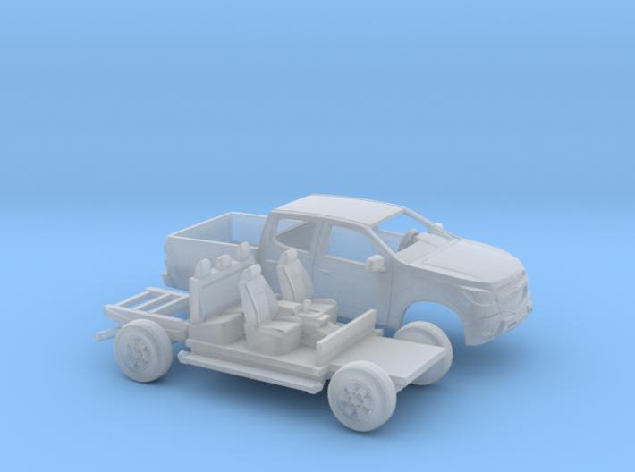 1/160 2013-16 Chevrolet S10/Colorado Kit 3d printed