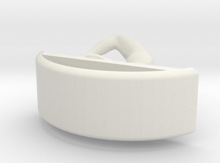Yoga Jewelry earring 1 hoop 3d printed