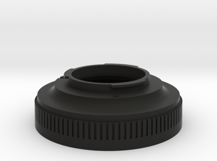 Zenza Bronica ETR To Pentax K-mount 3d printed