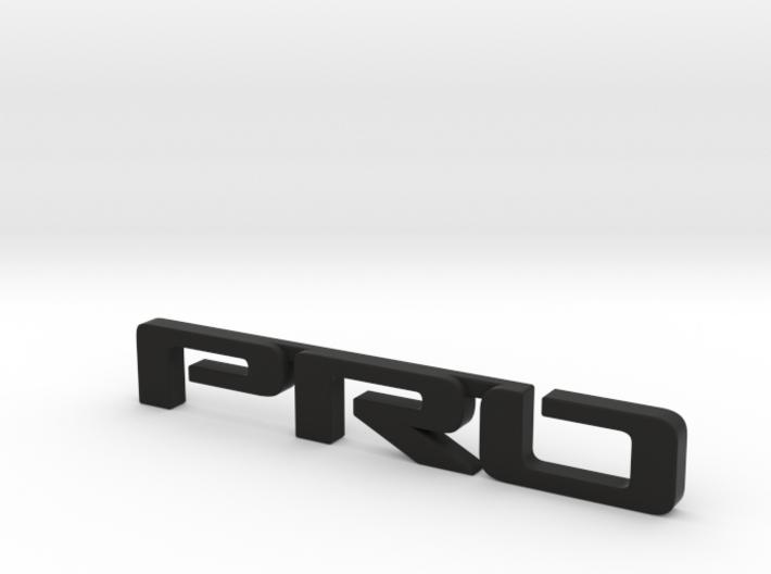 Pro emblem v01 3d printed