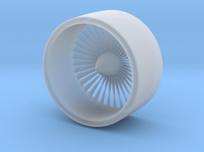 1/72 Boeing Jet Engine Part 1/2 3d printed