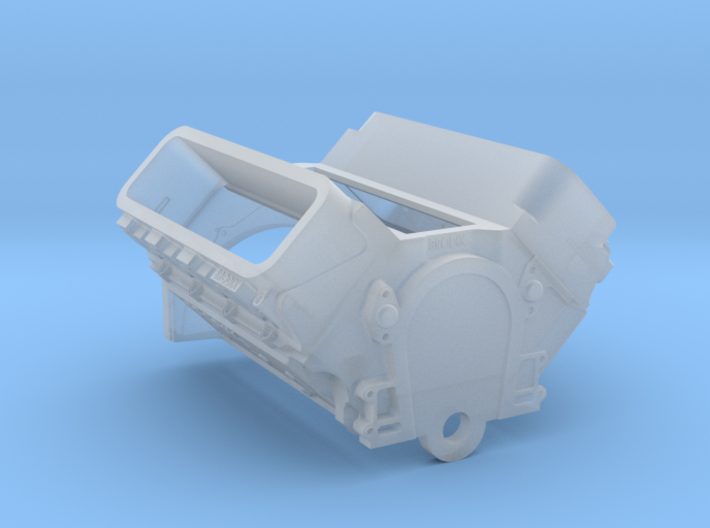 Brodix Big Block - Long Block 3d printed