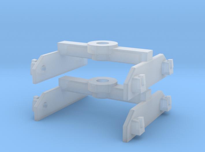 Brigadelok tender 0e bogies 3d printed