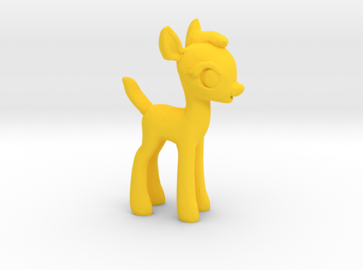 "My Little OC: Faun 1.5"" 3d printed"