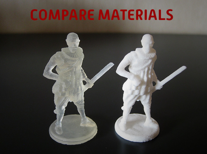 Hals - Recreate the masters (Frosted Ultra Detail) 3d printed