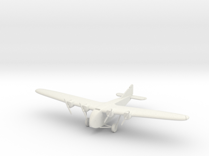 1:200 Scale Zeppelin-Staaken E.4/20 3d printed