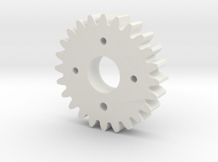 Metal/Plastic elevation gear for S3003 servo 3d printed