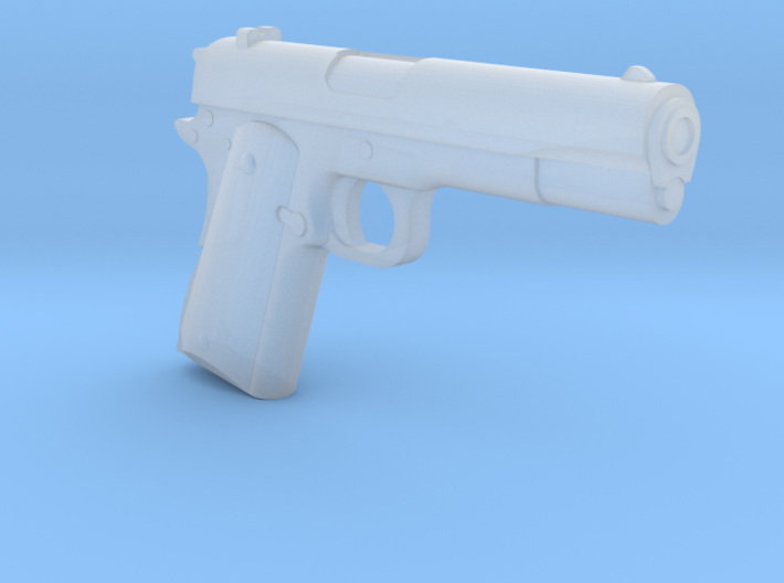 Colt M1911 (1:18 Scale) -PASSED- 3d printed