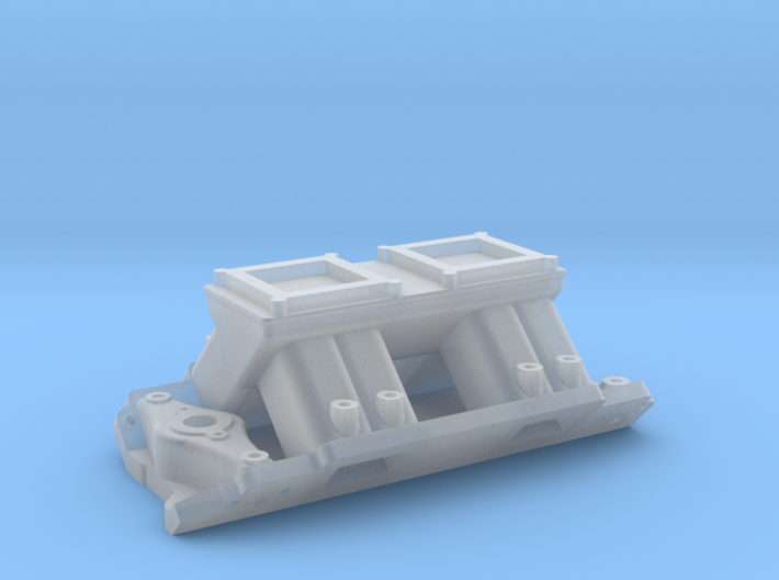 Tunnel Ram for Brodix Big Block - Nitrous/Fuel Inj 3d printed
