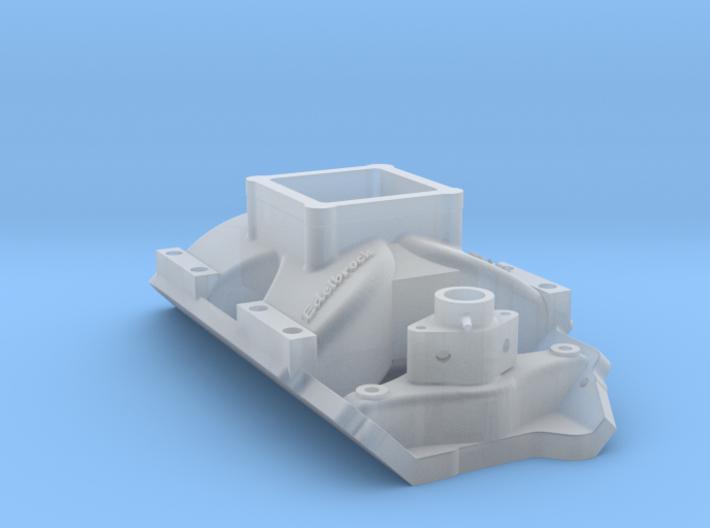 Edelbrock single-plane EFI intake 3d printed