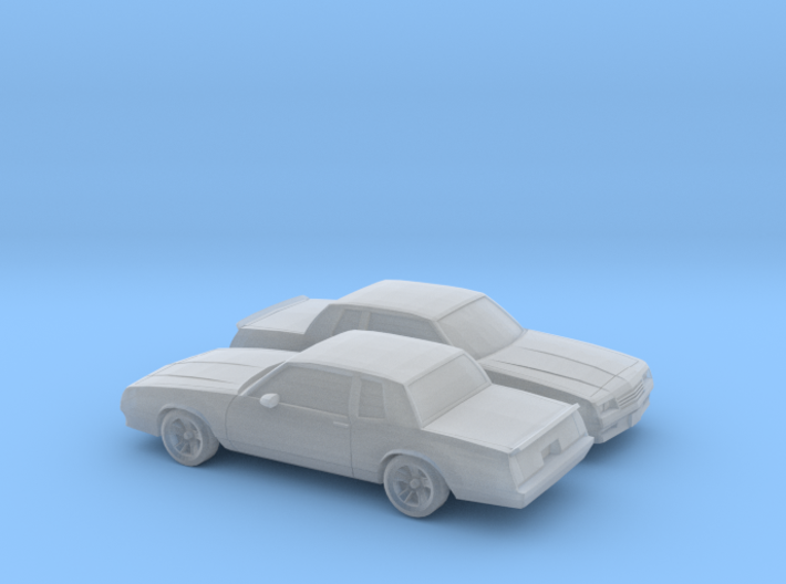 1/160 2X 1987 Chevrolet Monte Carlo SS 3d printed