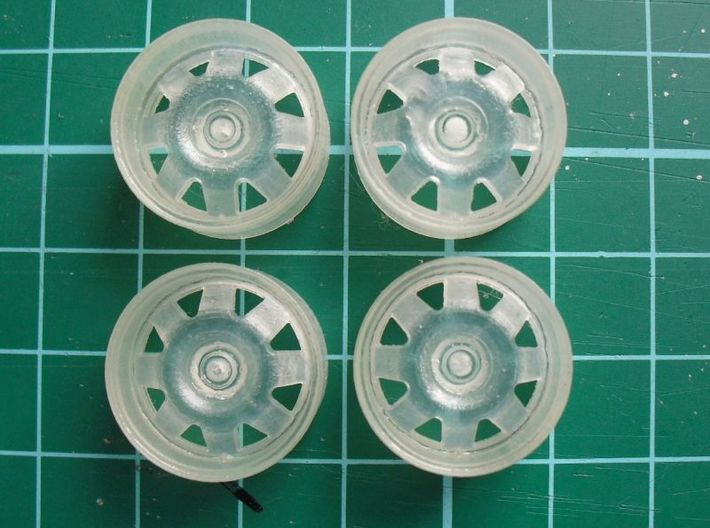 "1/24 Rim Set 18"" Ats Cup Style 3d printed Sample picture"